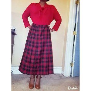 🎀 Plaid Skirt sz16 petite